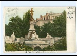 Y11190/ Gruß aus Stuttgart 1900 AK