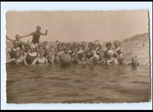 Y11993/ Badeleben an der Ostsee Foto AK 1925