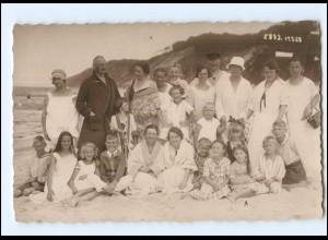 Y11991/ Badeleben an der Ostsee Foto AK 1925