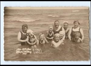 Y11992/ Badeleben an der Ostsee Foto AK 1925