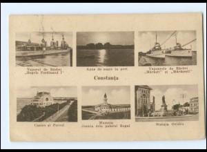 U4910/ Constanta Schiffe Marine Rumänien AK 1933