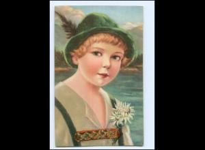 Y11492/ Junge Kind Trachten AK 1928 Bayern