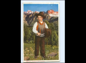 Y11495/ Bozen Bolzano Junge Trachten AK Italien 1933