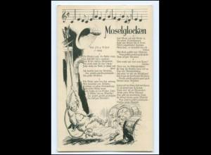 Y11496/ Lieder AK Moselglocken v. Jörg Ritzel 1933 Wein