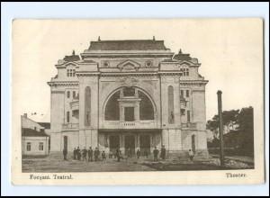 U4883/ Foscani Teatrul Theater AK Rumänien 1917