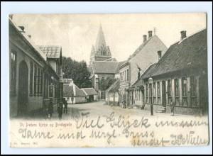 Y11445/ Slagelse Bredegade Dänemark AK 1903
