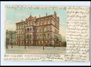 Y11441/ Berlin Friedenau Gossner`s Missionshaus AK 1911