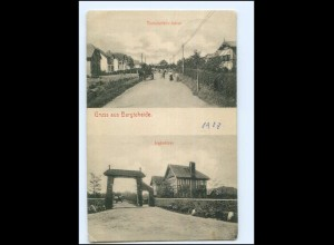 U4934-2072/ Bargteheide Tremsbüttelerstraße, Jagdschloß AK 1915