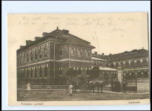Y11487/ Focsani Lyzeum Rumänien AK 1917