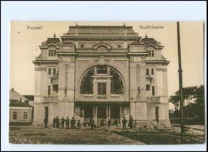 Y11486/ Focsani Stadttheater Rumänien AK 1917