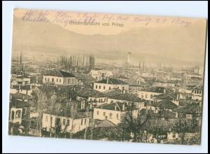 U4957/ Gesamtansicht von Prilip Mazedonien Ak 1917