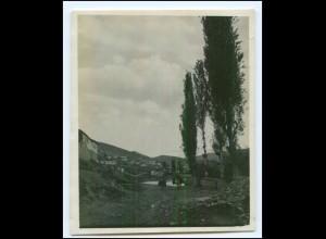 U5036/ Veles Partie an dere Wardar Mazedonien Original Foto 1916 1. Weltkrieg