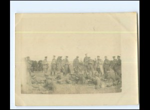 Y13498/ 1. Weltkrieg Original Foto Hasenjagd bei Filipesti Rümänien 1918