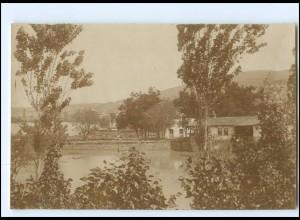 U4953/ Veles unter Wasser Hochwasser Mai 1916 Foto AK Mazedonien
