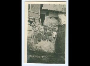 U4982/ Veles Kinder von Veles Original Foto 1916 Mazedonien