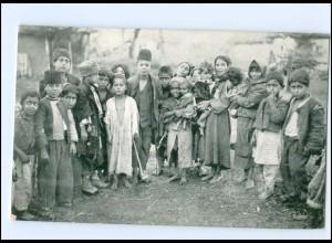 U5033/ Serbien Zigeuner Dorfjugend 1916