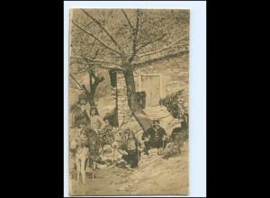 U4964/ Türken mit ihren Eseln von Veles Mazedonien AK 1916