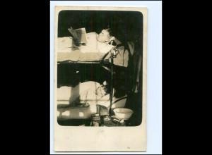 Y11730/ Soldaten im Hochbett Foto AK 1914