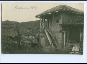 Y11605/ Serbien 1917 Foto AK 1. Weltkrieg