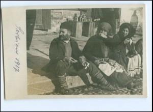 U4972/ Serbien Typen Foto AK 1917