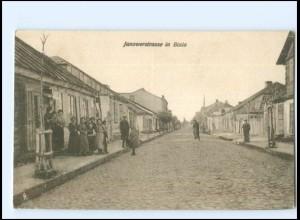 U4992/ BIala Zülz Janowerstraßen AK Polen 1916