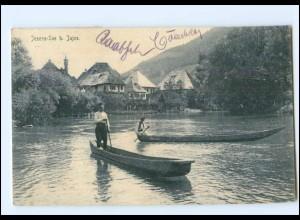U5063/ Jezero-See bei Jajce Bosnien AK 1909