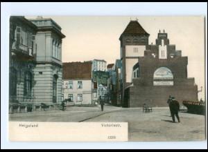 U5876/ Helgoland Victoriastraße ca.1900 AK