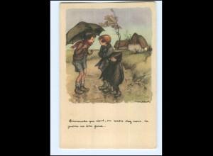 Y12451/ Ligue National contre le Taudis Cite Jardins D`Orly Frankreich 1940 AK