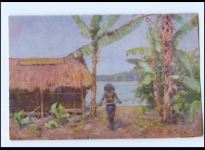 Y11622/ Kolonialkriegerdank Papua in Neuguinea Kolonien AK 1915
