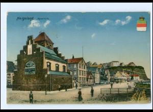 U5874/ Helgoland Aquarium 1915 AK