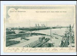 U5804/ Gruß aus Bremerhaven 1901 AK
