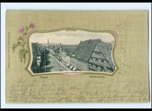 U5354/ Hameln Bäckerstraße Jugendstil Ak 1903