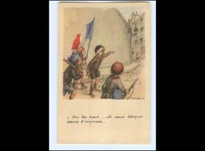 Y12449/ Ligue National contre le Taudis Cite Jardins D`Orly Frankreich 1940 AK
