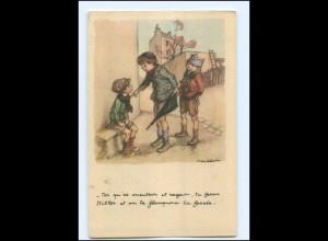 Y12450/ Ligue National contre le Taudis Cite Jardins D`Orly Frankreich 1940 AK