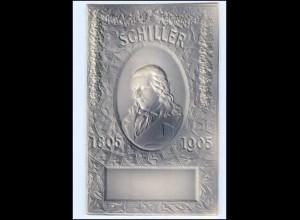 U5237/ Friedrich Schiller 1805 -1905 Prägedruck AK