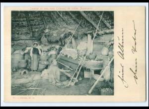 U6738/ Indios Araucanos Chile AK ca.1900