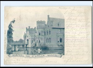 Y11601/ Kasteel van Stapelen-Boxtel NIederlande AK 1903