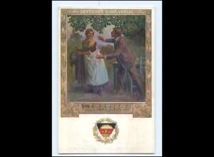 Y11737/ Deutscher Schulverein Deutsche Lieder AK ca.1915