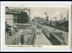 U5801/ Cuxhaven Am alten Hafen AK