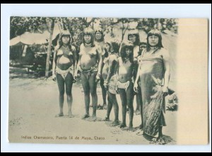 U5483/ Indias Chamacoco, Chaco Argentinien AK 1910