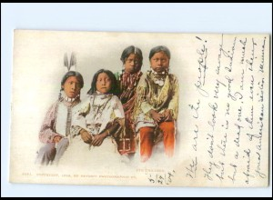 U5392/ Indianer Indians Ute Children AK 1904 USA
