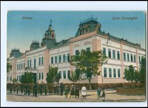 U5290/ Silistra Scola Pedagogica Bulgarien AK 1917
