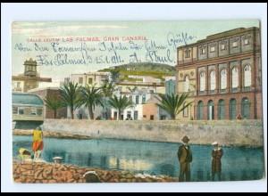 U5289/ Gran Canaria Las Palmas Spanien AK 1911