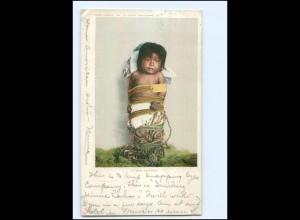 U5400/ Indianer Indians A Pima Pappose AK 1904 USA
