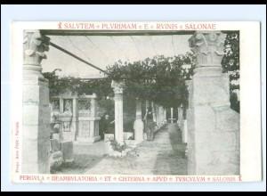 U5407/ Salvatem - Plyrimam - E- Rvinis - Salonae Dalmatien Kroatien AK ca. 1910