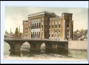 U5340/ Sarajevo Rathaus AK ca.1910 Kroatien