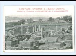 U5366/ Salvatem - Plyrimam - E- Rvinis - Salonae Dalmatien Kroatien AK ca. 1910