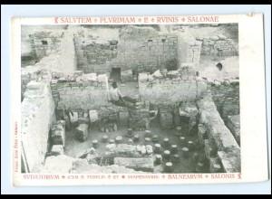 U5367/ Salvatem - Plyrimam - E- Rvinis - Salonae Dalmatien Kroatien AK ca. 1910