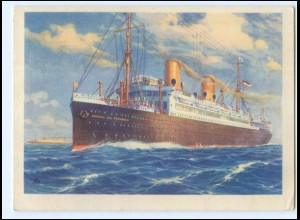 U5180/ Postdampfer General Steuben Nordd. Lloyd AK 1932