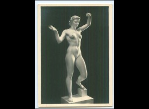 Y11999/ Arno Breker: Anmut Skulptur Foto AK ca.1935
